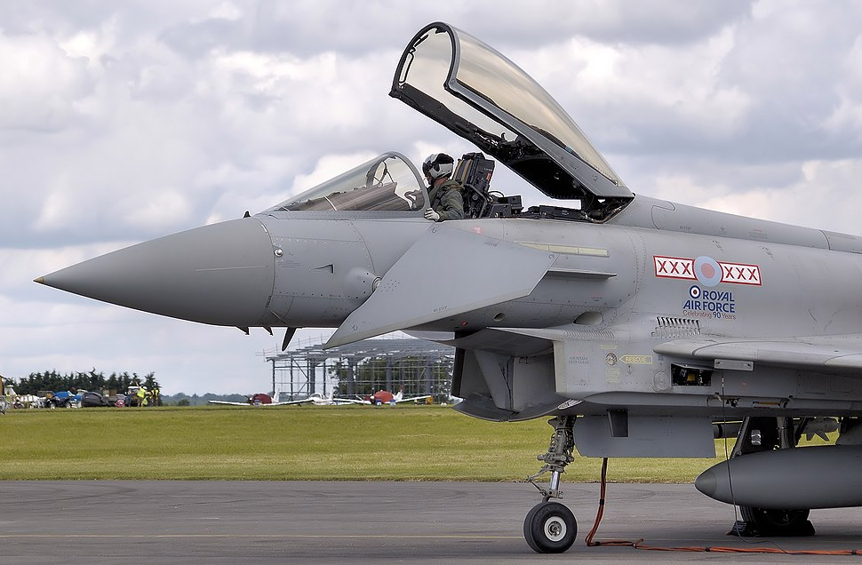 Typhoon f2 zj910 canard arp