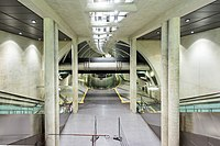 U-Bahnhof Heumarkt, Köln. Blick Zwischenebene 1 nach 2-3557.jpg