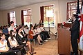 U.S. Ambassador Bass speaks to the Georgian youth 2010.jpg