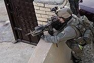 U.S. Army Ranger, 2nd Battalion, 75th Ranger Regiment providing Overwatch in Iraq 2009