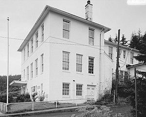 Cordova Post Office and Courthouse - Image: U.S. Post Office & Courthouse, Second Street, Cordova (Valdez Cordova Census Area, Alaska)