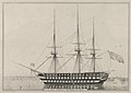 U. S. Ship North Carolina, 102 Guns MET DP853571.jpg