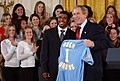 UCLA men's soccer team at the White House 2003-02-24.jpg