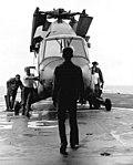 UH-2 Seasprite of HC-7 aboard USS Truxtun (DLGN-35) off Vietnam, in December 1969 (NNAM.2011.113.373).jpg
