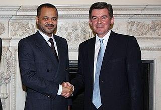 Sayyid Badr bin Hamad bin Hamood AlBusaidi Omani diplomat