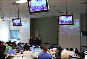 University of Medicine and Health Sciences - UMHS basic science campus auditorium