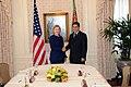 UNGA 2009- Secretary Clinton Meets With Turkmenistan President (3954433142).jpg