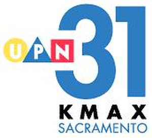 "KMAX-TV - KMAX's first ""UPN 31"" logo, used from 1998 to 2002"