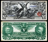 United States Five Dollar Bill Wikipedia
