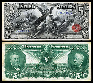 Educational Series - Image: US $5 SC 1896 Fr.270