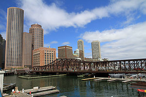 Fort Point Channel - Old Northern Avenue Bridge