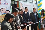 USAID signs Education Agreement and Launches Mobile Bus Library Program (15205195554).jpg