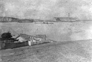 USS Camanche monitor at Mare Island 1866