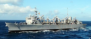 USS <i>Detroit</i> (AOE-4) Sacramento-class fast combat support ship