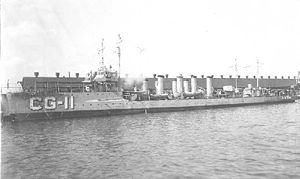 USS Fanning (DD-37) - Fanning in Coast Guard service