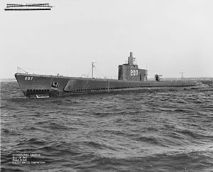 Off Groton, Connecticut, while running trials, 26 March 1941