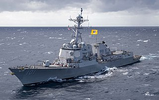 USS <i>Gridley</i> (DDG-101) Arleigh Burke-class destroyer