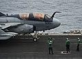 USS Nimitz conducts flight operations. (9069869378).jpg
