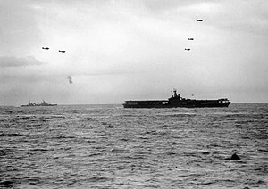 USS Ranger (CV-4) and Tuscaloosa (CA-37) off Norway 1943.jpg