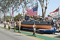 US Navy 070519-N-9706M-006 Boy Scout Troop 948 from Long Beach, Calif., marches alongside the replica of the USS Nevada (BB-36) at the 48th Annual City of Torrance Armed Forces Day Parade.jpg