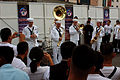 US Navy 070907-N-5174T-007 Sailors attached to the Pacific Fleet Band perform during the second night of the Kuala Lumpur International Tattoo 2007.jpg
