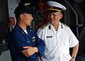 US Navy 090611-N-5207L-183 Vietnamese People's Navy Rear Adm. Do Viet Cuong, one of three observers.jpg