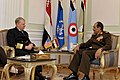 US Navy 091111-N-8273J-017 Chief of Naval Operations (CNO) Adm. Gary Roughead meets with Egyptian Defense Minister Field Marshal Tantawi while visiting Cairo.jpg