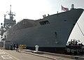 US Navy 100514-N-9806M-030 The Royal Navy Invincible-class light aircraft carrier HMS Ark Royal (RO7) arrives at Naval Station Norfolk.jpg