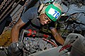 US Navy 111018-N-DU438-105 Aviation Machinist's Mate 2nd Class Othello Adou, assigned to Helicopter Maritime Strike Squadron (HSM) 70.jpg