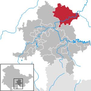 Uhlstädt-Kirchhasel - Image: Uhlstädt Kirchhasel in SLF