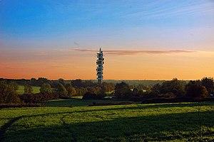 Purdown BT Tower - Image: Uk bristol pd 1