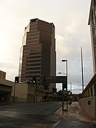 UniSource Energy Tower, from intersection