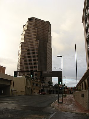 One South Church - One South Church Building with its parking garage to the right.