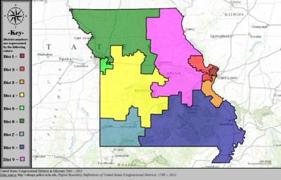 Missouris 6th congressional district