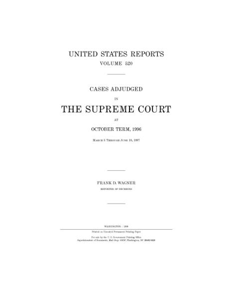 File:United States Reports, Volume 520.djvu