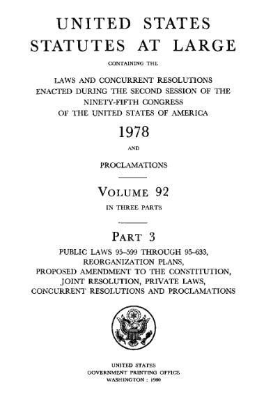 File:United States Statutes at Large Volume 92 Part 3.djvu