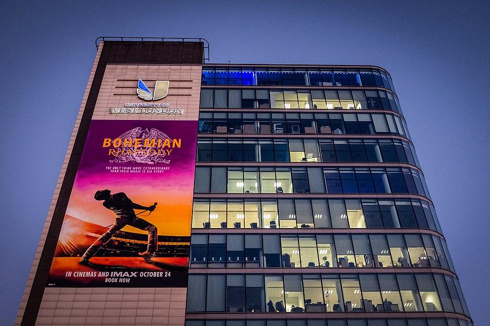 University of West London Bohemian Rhapsody Poster