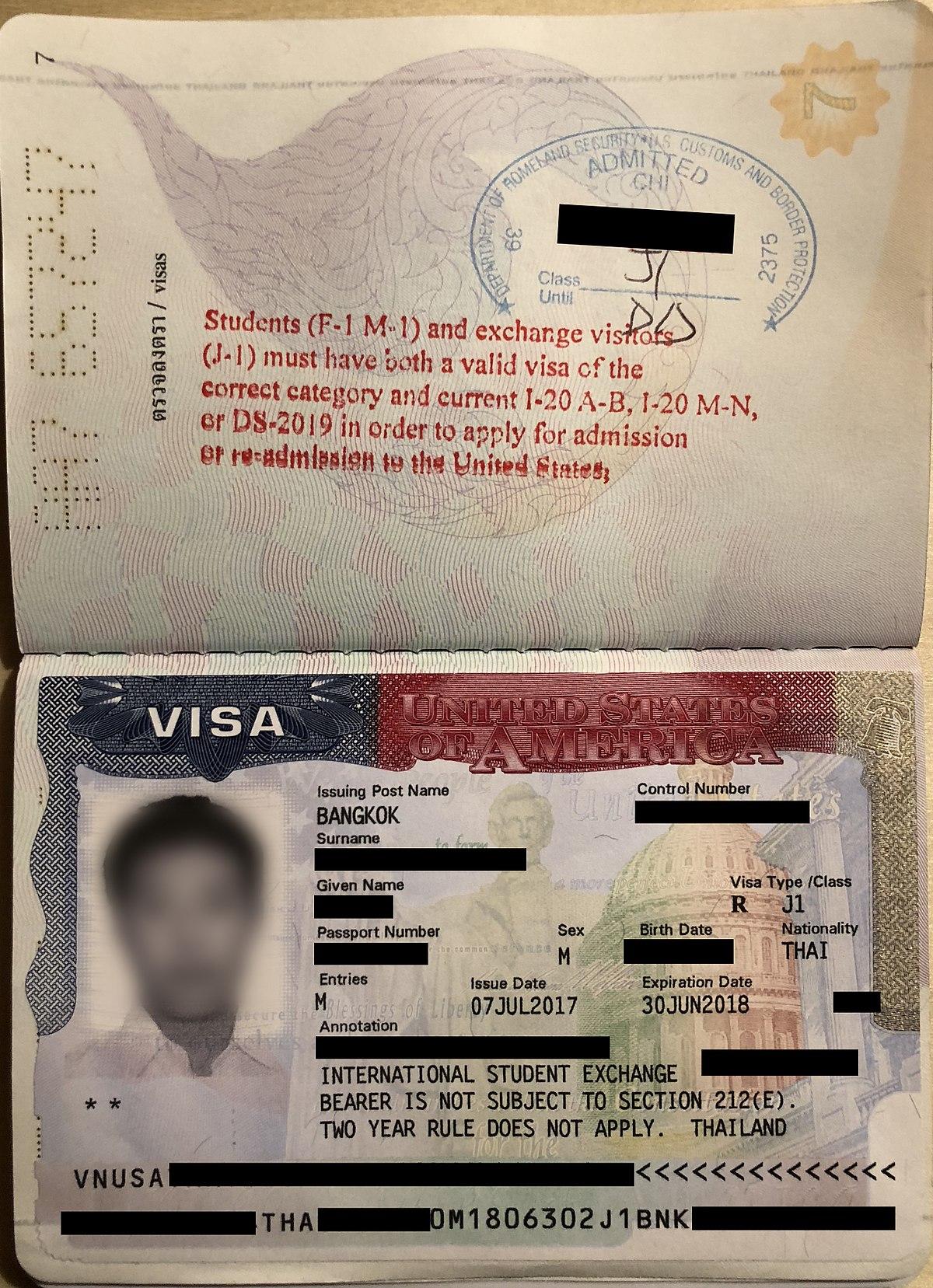 J-1 visa - Wikipedia