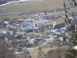Blick auf Uttendorf