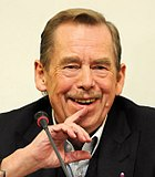 Václav Havel cut out