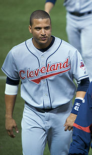 Victor Martinez with the Cleveland Indians 2008