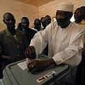 VOA MALI ELECTIONS Amadou Toumani Toure 29apr07.jpg
