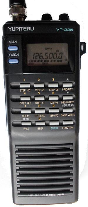 Yupiteru - Airband receiver