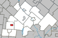 Valcourt (City) Quebec location diagram.png