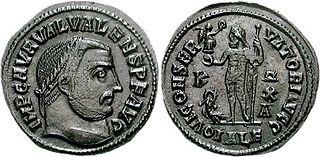 Valerius Valens Roman emperor