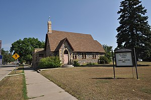 National Register of Historic Places listings in Barnes County, North Dakota - Image: Valley City ND All Saints Episcopal Church