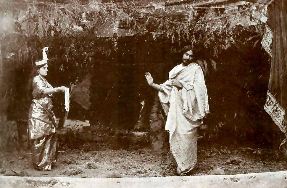 Valmiki Pratibha Indira Devi & Rabindranath Tagore