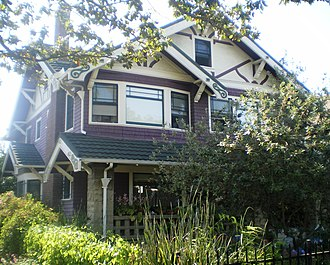Van Buren Place Historic District - Image: Van Buren Place Historic District House 2, Los Angeles