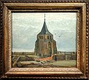 Van Gogh - The Old Church Tower at Nuenen with frame.jpg