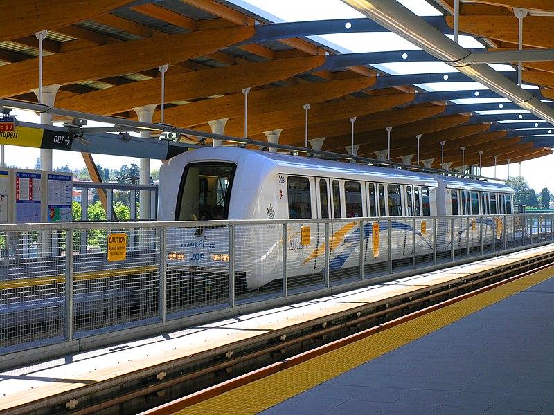 Linhas do Skytrain de Vancouver